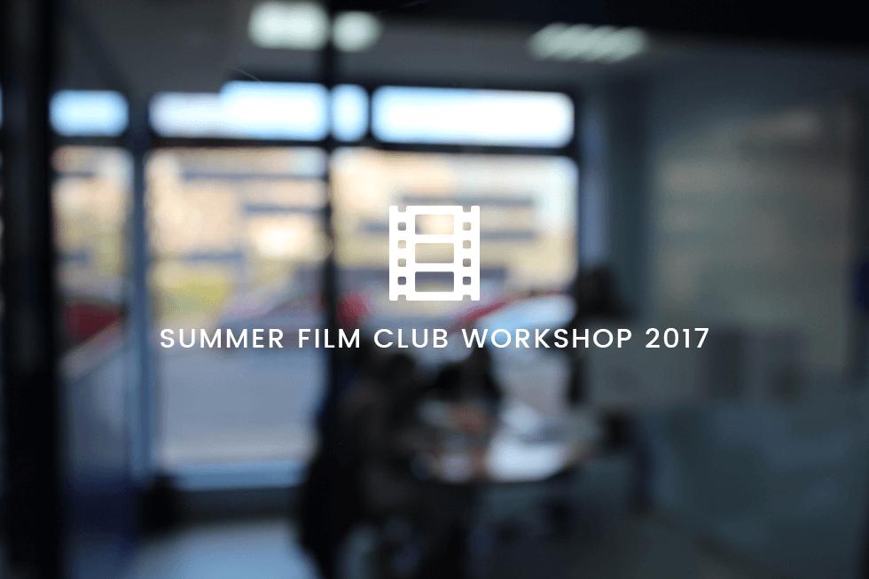 Taller Cine de verano 2017